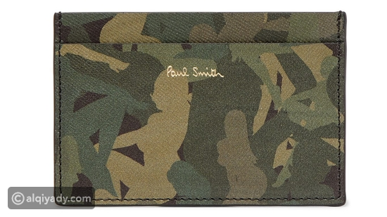 Paul Smith Camouflage Print Cardholder